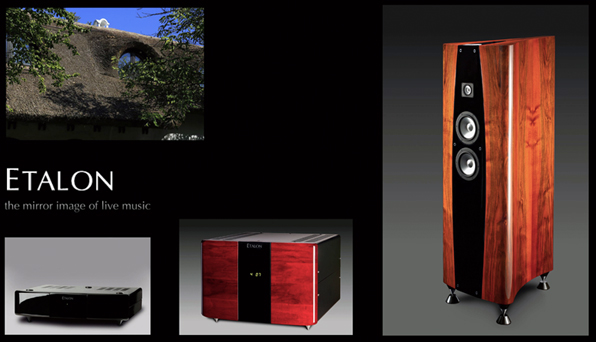 Etalon Acoustics Germany Verst�rker Vollverst�rker Endverst�rker Lautsprecher - HighEnd